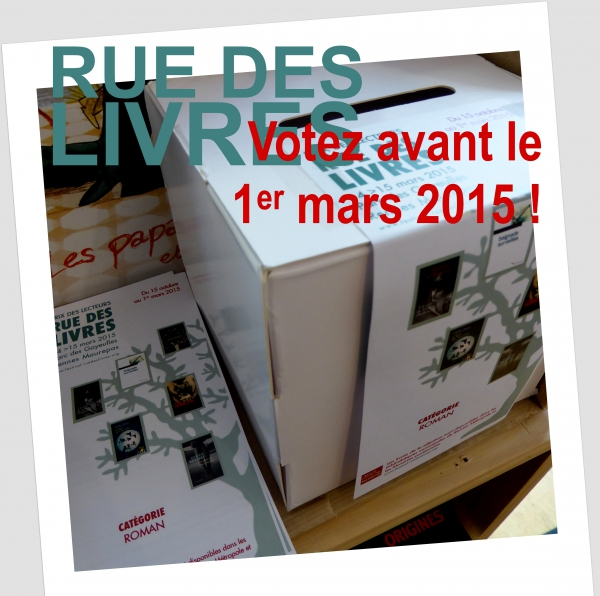 Rue des Livres, Rennes, La Courte Echelle, Prix des Lecteurs