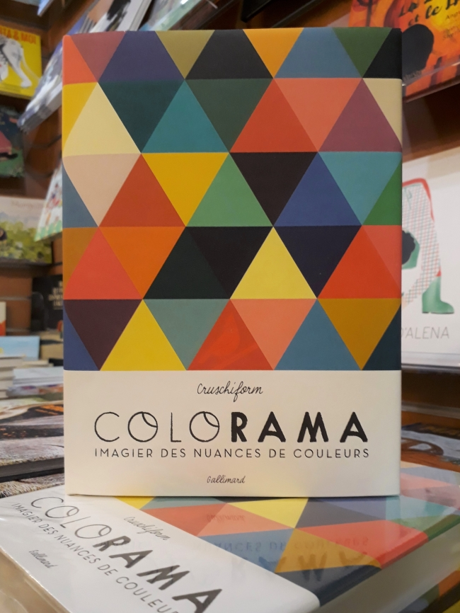 colorama, cruschiform, couleurs, gallimard