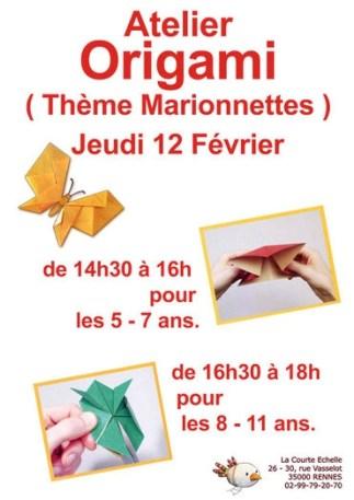 origami, courte echelle, carole lepan