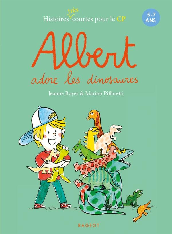 Albert adore les dinosaures