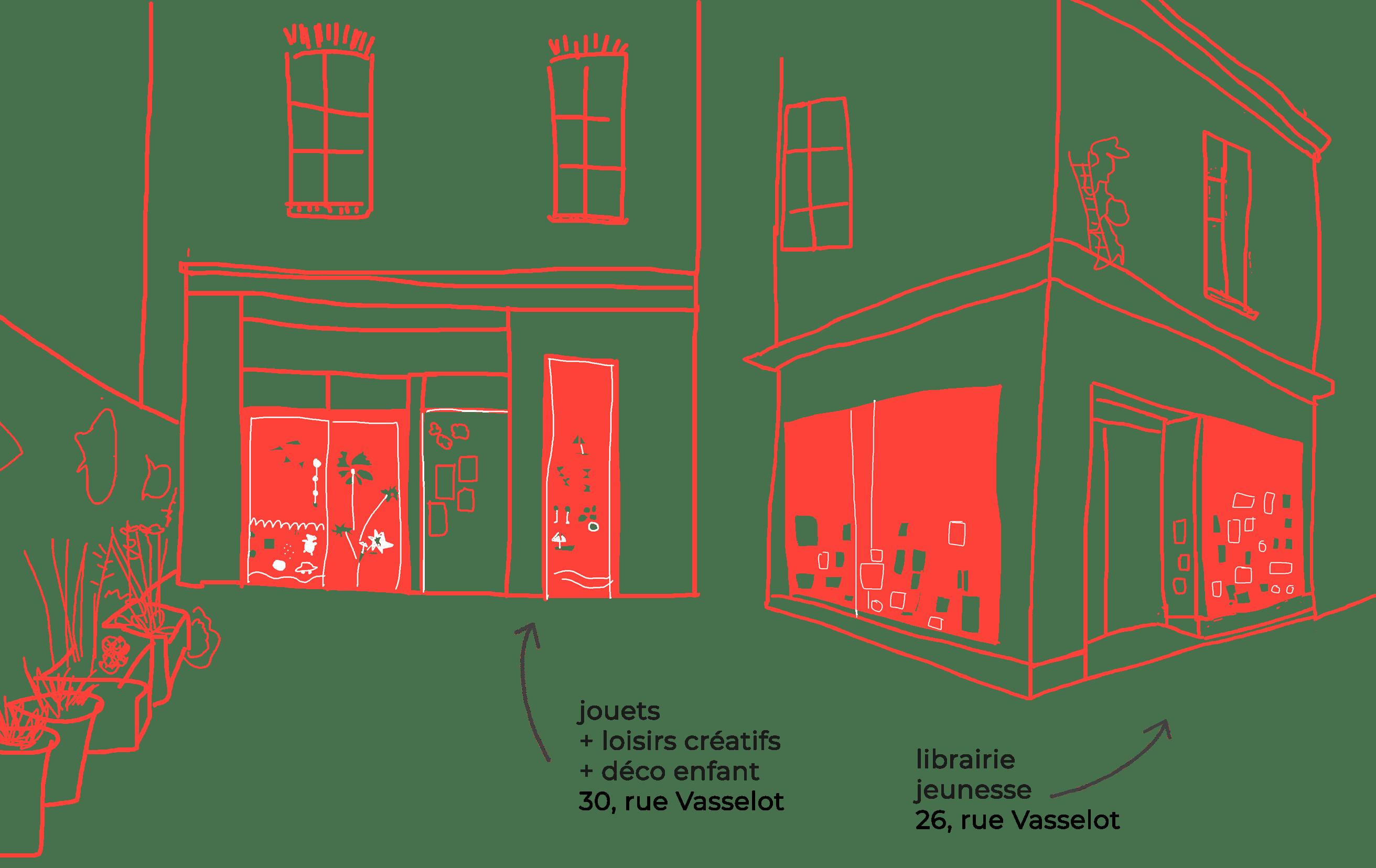 La Courte Echelle, 26-30 rue Vasselot, Rennes