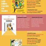 Dédicaces de mars – Les P'tits Bouquineurs, Rue des Livres, Miss Charity