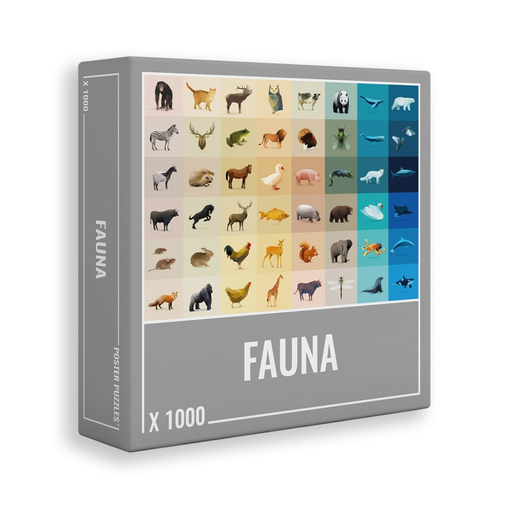 Puzzle Faune, 1000 pcs, Cloudberries