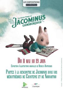 Jacominus dans les médiathèques de Chantepie et Nouvoitou, derniers jours pour visiter l'exposition des originaux de Rebecca Dautremer