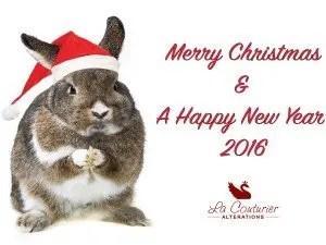 Christmas Bunny 2015
