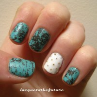 Turquoise and studs