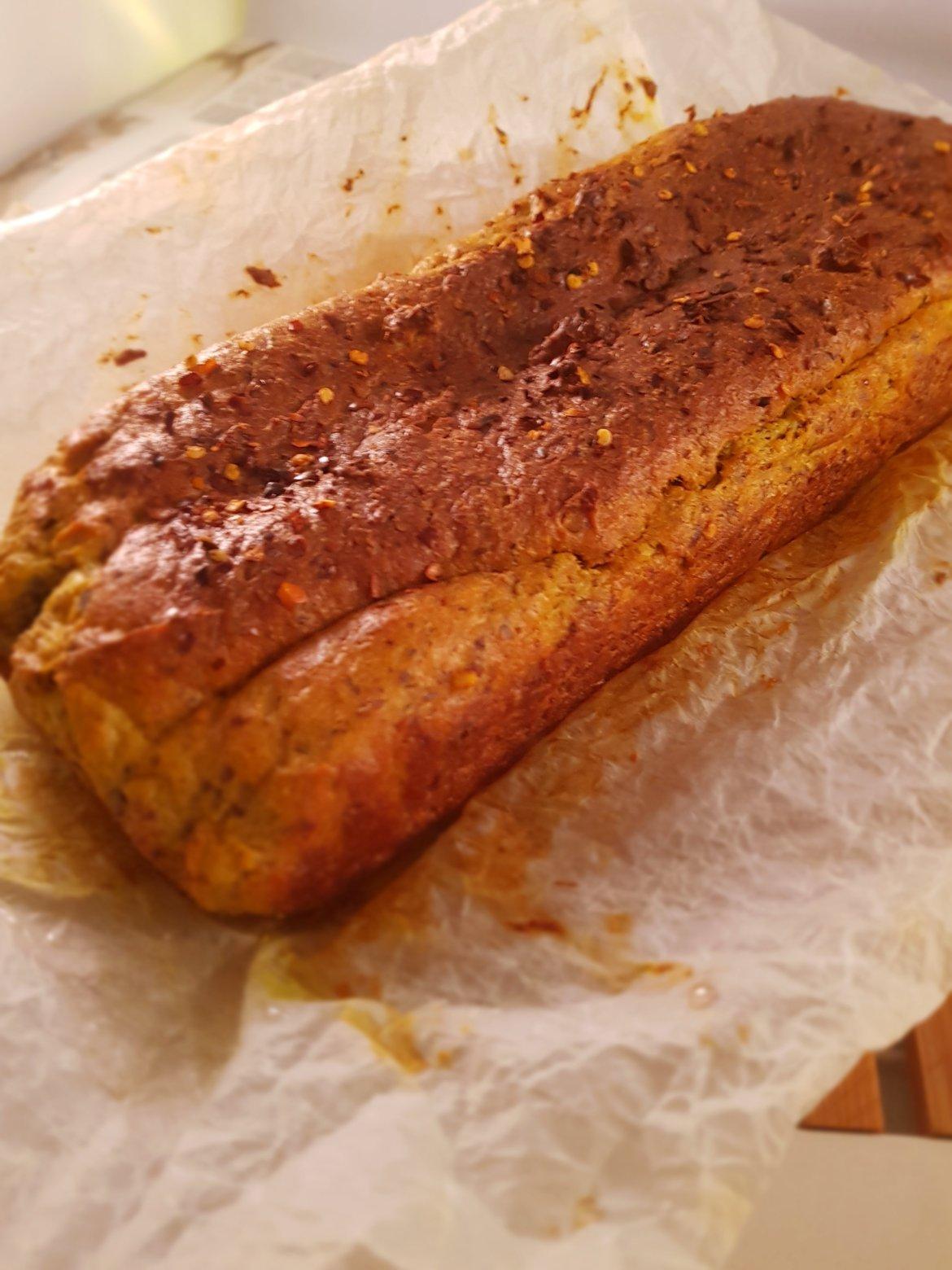 Pâine  condimentată keto