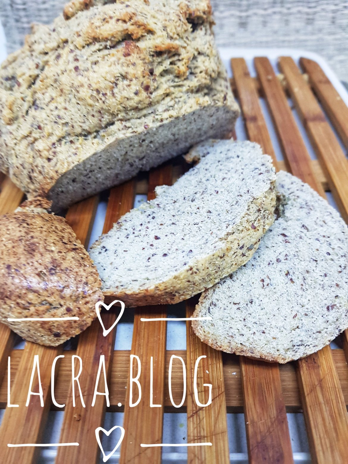 Pâine LCHF la mașina de pâine