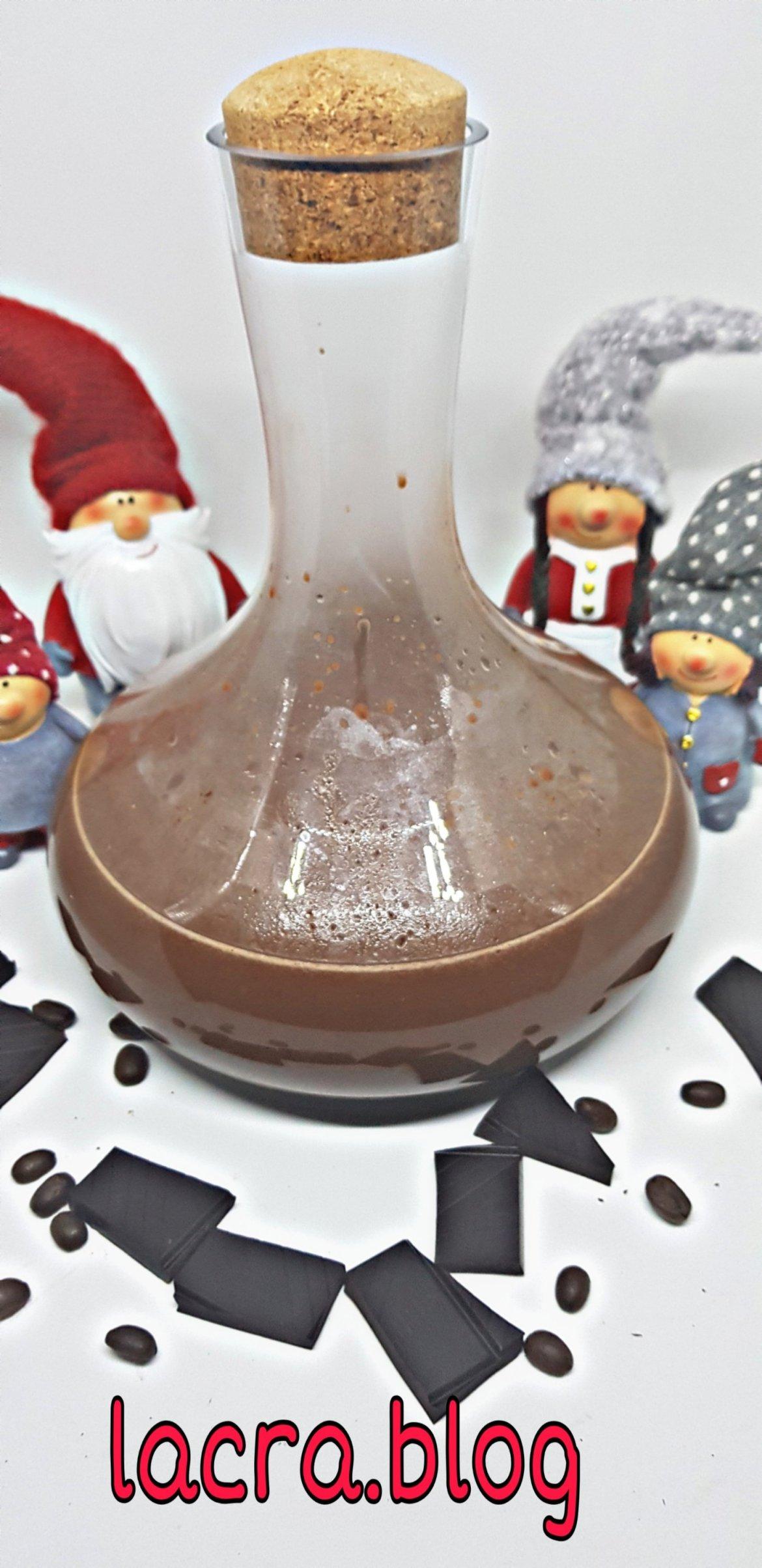 Lichior de ciocolată și cafea