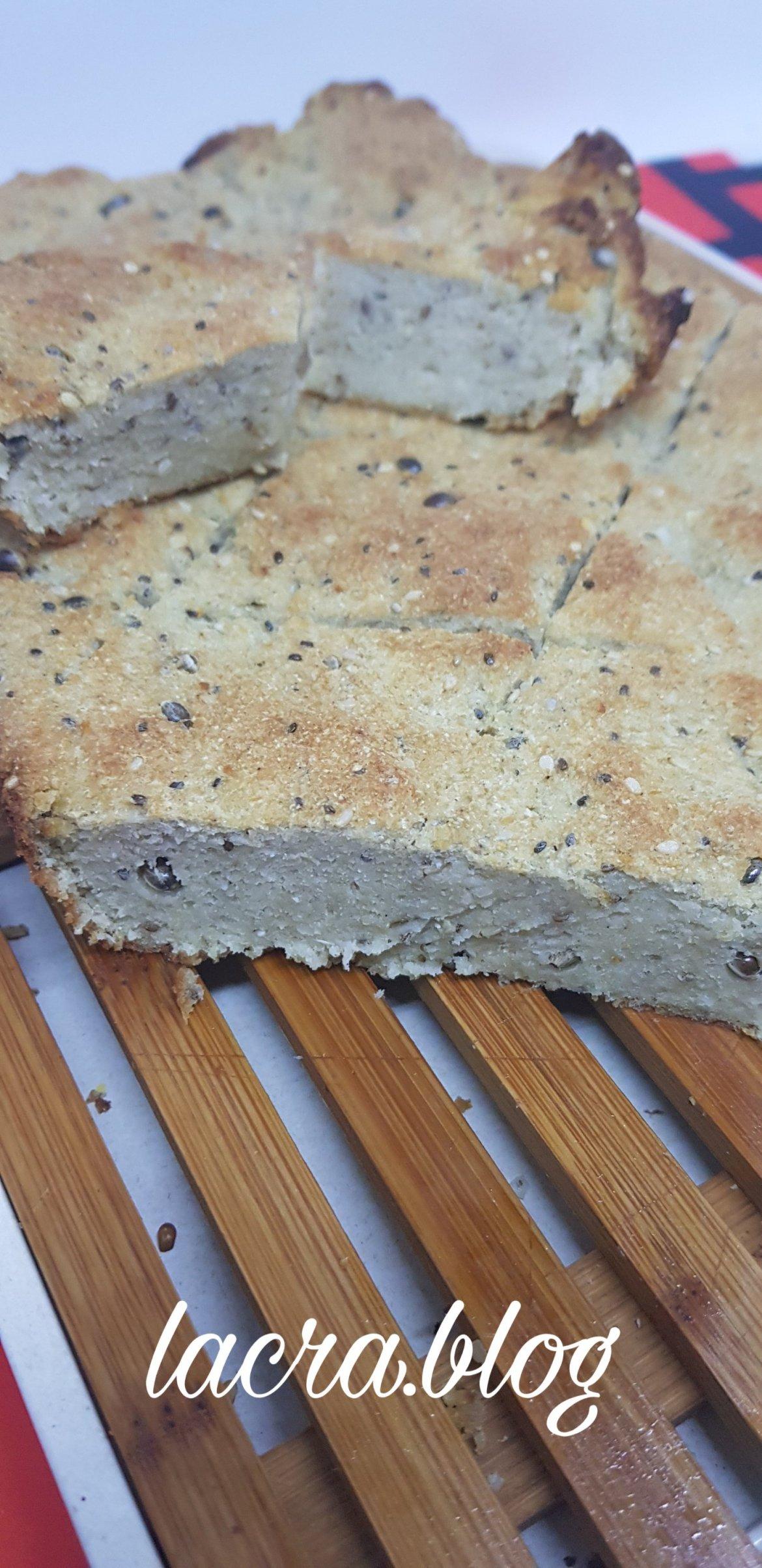 Pâine de post ( keto, cu drojdie și gluten )