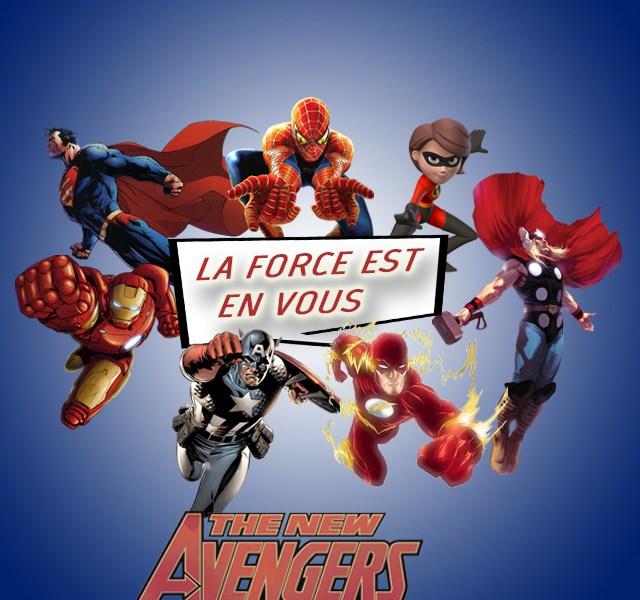 Les supers héros sont en vous à Paris !