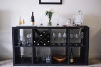 DIY Wine Rack: An X-Shelf IKEA Hack