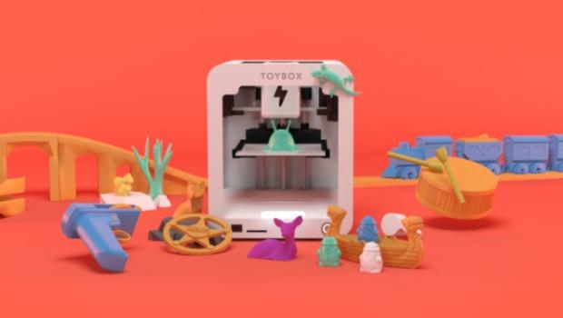 Toybox Una Impresora 3d Para Imprimir Tus Propios