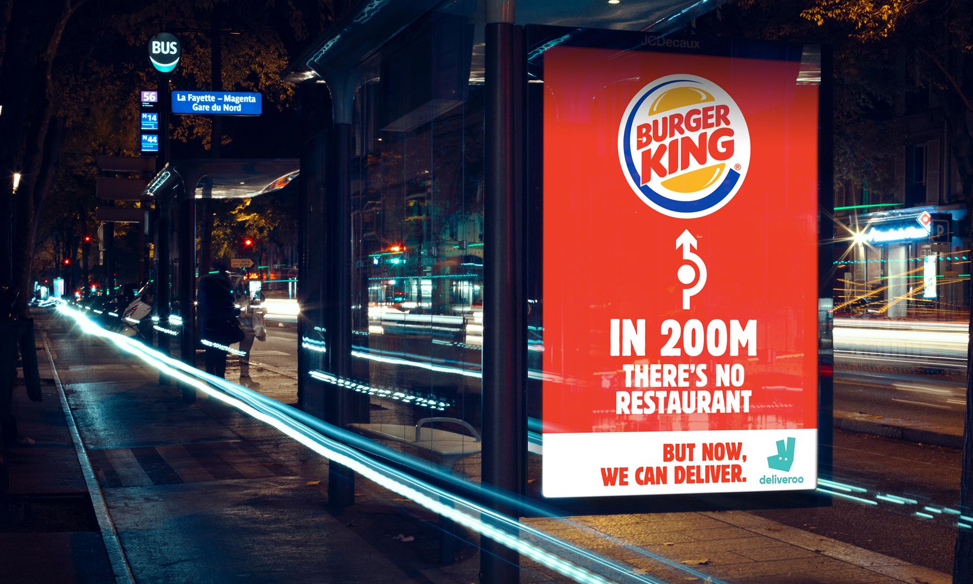 Acción Burger King Francia.