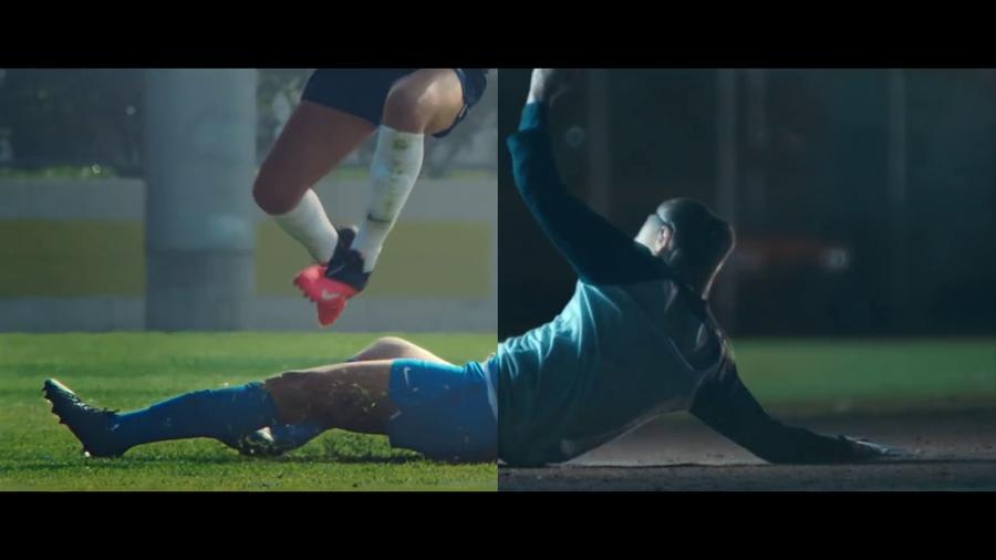 """""""Você não pode nos parar"""", o surpreendente ponto de tela dupla com o qual a Nike """"se destaca"""" contra o coronavírus 1"""