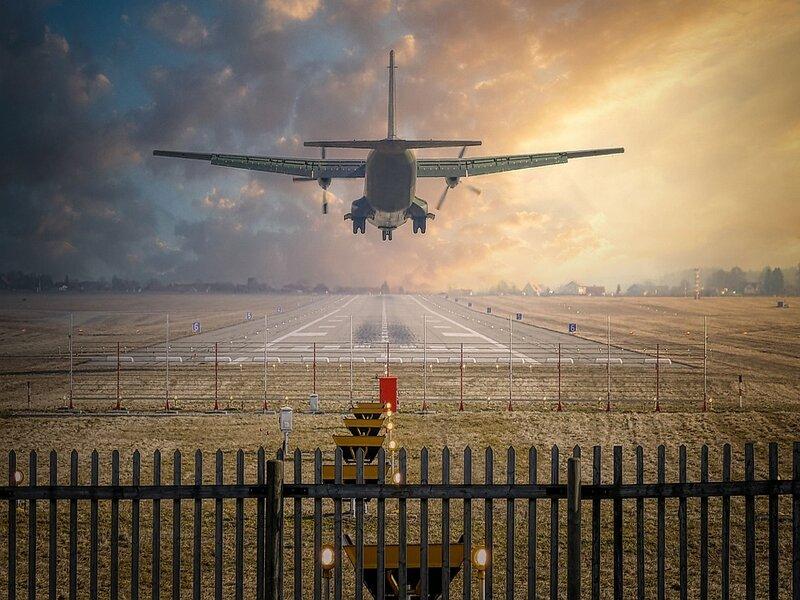 Soñar con aterrizaje