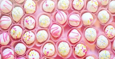 soñar con dulces