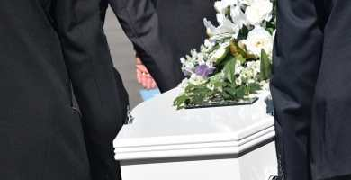 soñar con entierro