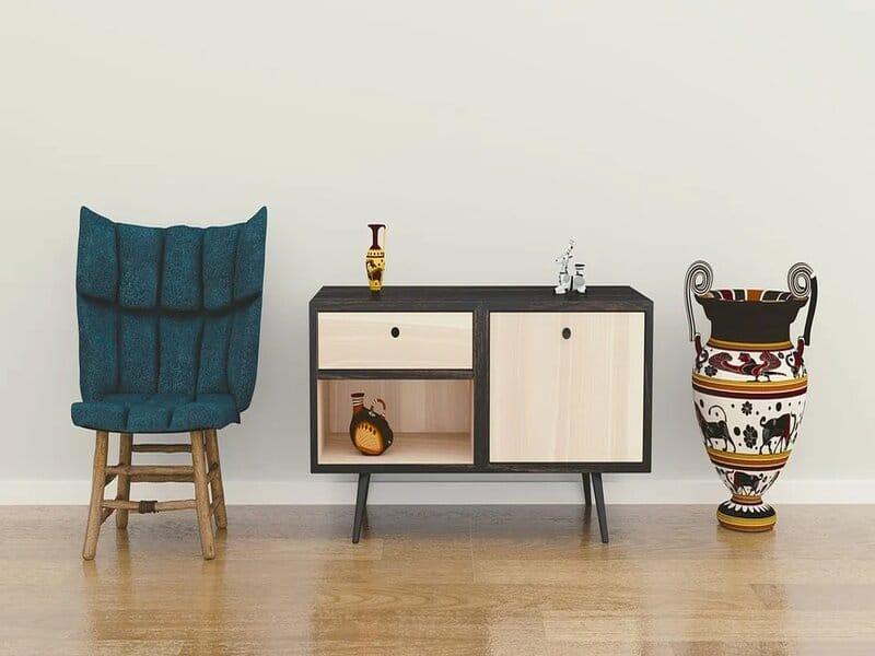soñar con muebles