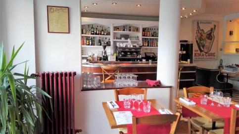 Restaurant Croix Blanche, bar