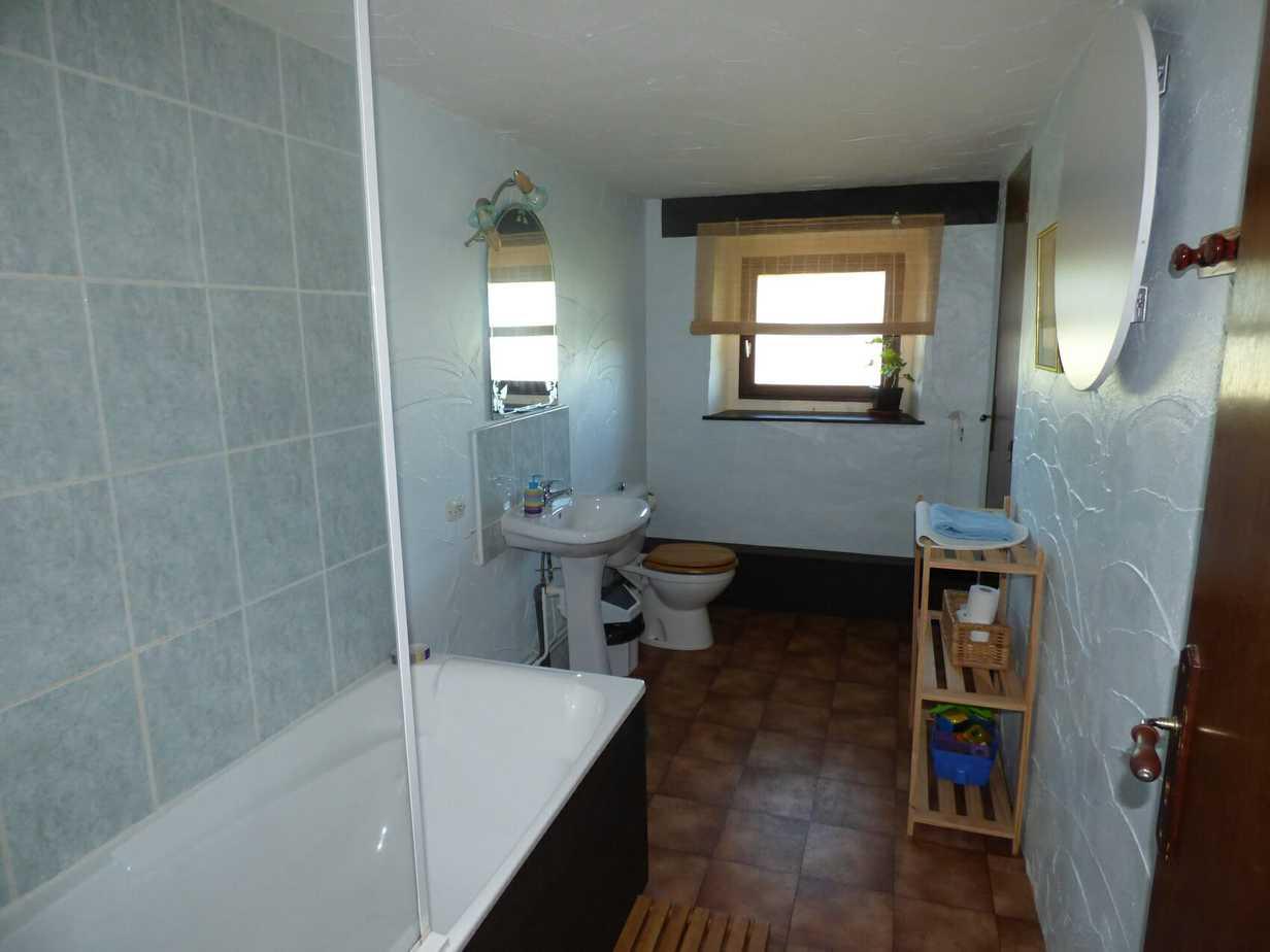 Corneille's upstairs bathroom