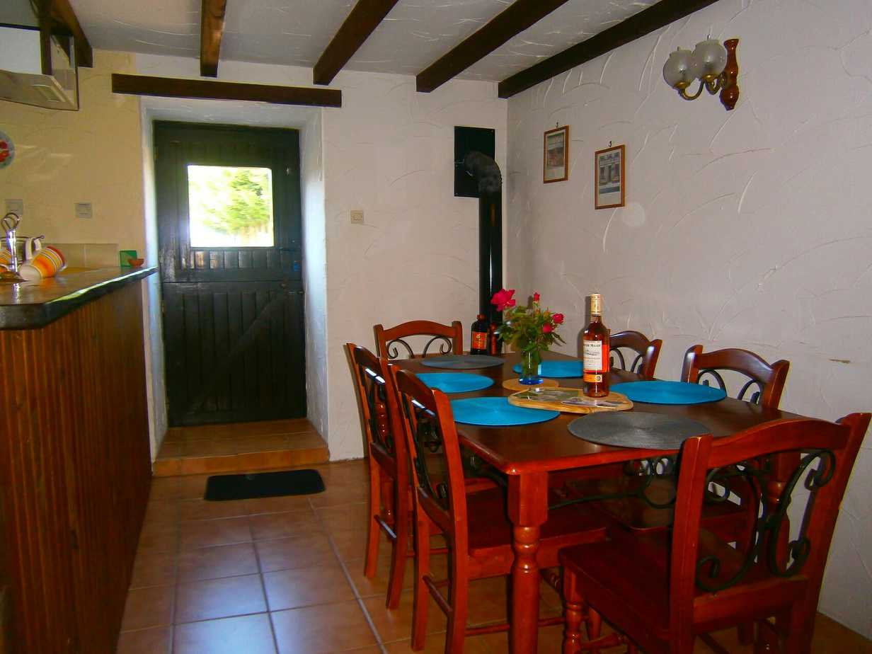 Baudelaire's dining area