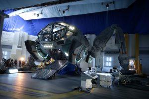 La nave Moon Tug que vemos en la película