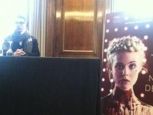 Nicolas Winding Refn en la presentación de THE NEON DEMON
