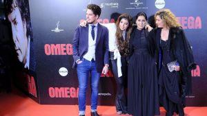 Familia Morente en la Premiere