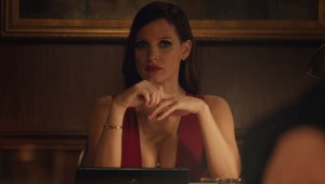 Jessica Chastain como Molly en MOLLY´S GAME