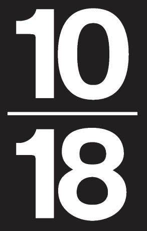 Logo 10-18 noir au blanc:Logo 10-18 noir au blanc