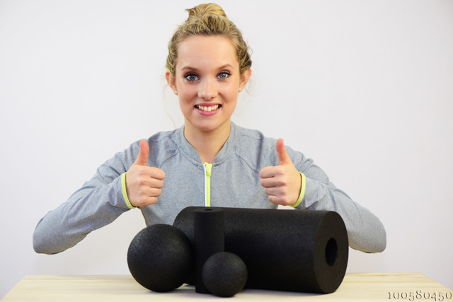 Massagerolle und Massageball