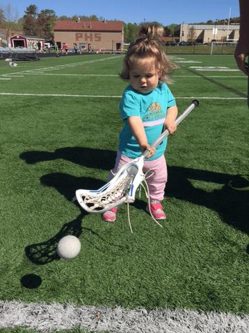Little Lacrosse Player