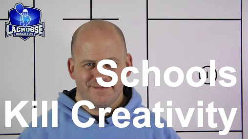 Sir Ken Robinson Says Schools Kill Creativity.  I Do Too.