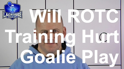 This ROTC Goalie Wants To Know If His Training Will Hurt His Goalie Play