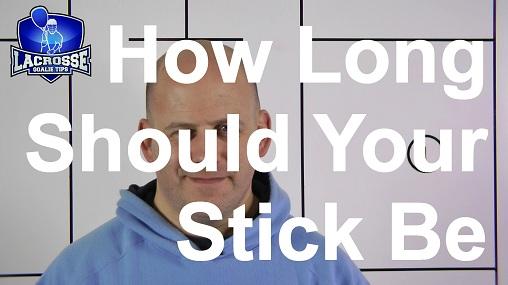 How Long Should a Lacrosse Goalie Stick Be?
