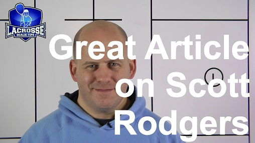 Great Article on Scott Rodgers in the Baltimore Sun