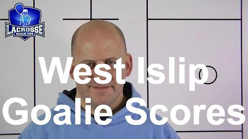 West Islip Lacrosse Goalie Scores Goal in OT