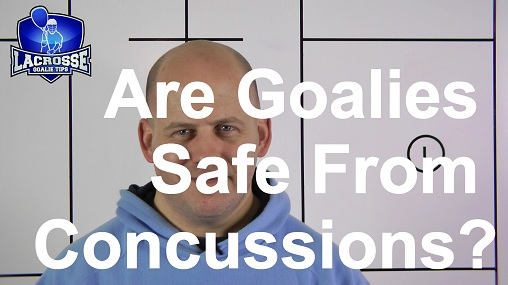 Is Lacrosse Goaltending Safe From Concussions?
