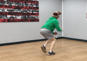 Is It The Hand Eye Drill Or The Lunges That's Making This Goalie Better?
