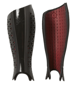 Aididas Lux Shin Guards for lacrosse goalies