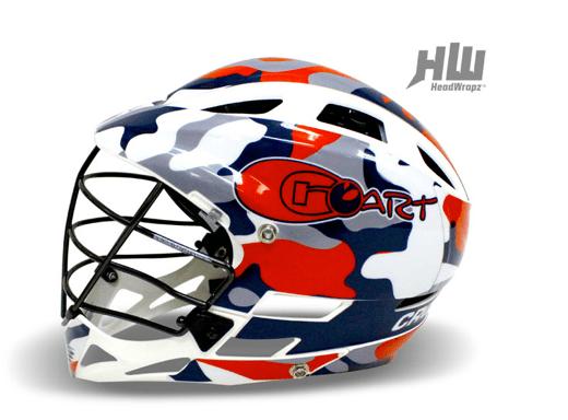 CroART Lacrosse Gets the HeadWrapz