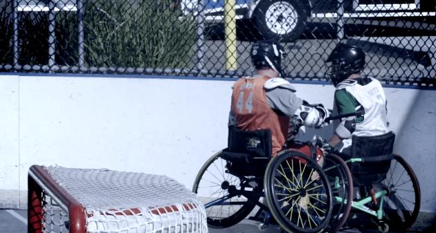 Wheelchair Lacrosse USA Promo Video