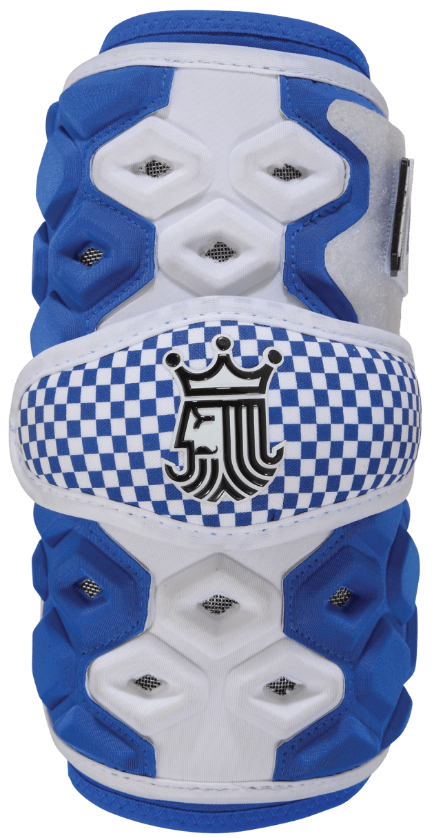 duke lacrosse, custom Triumph elbow guards, as well as the LoPro D arm pad