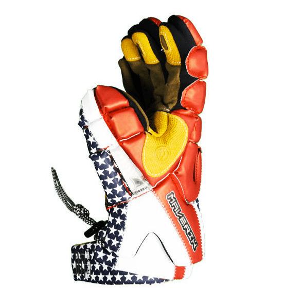 Maverik Lacrosse Team USA Rome Gloves