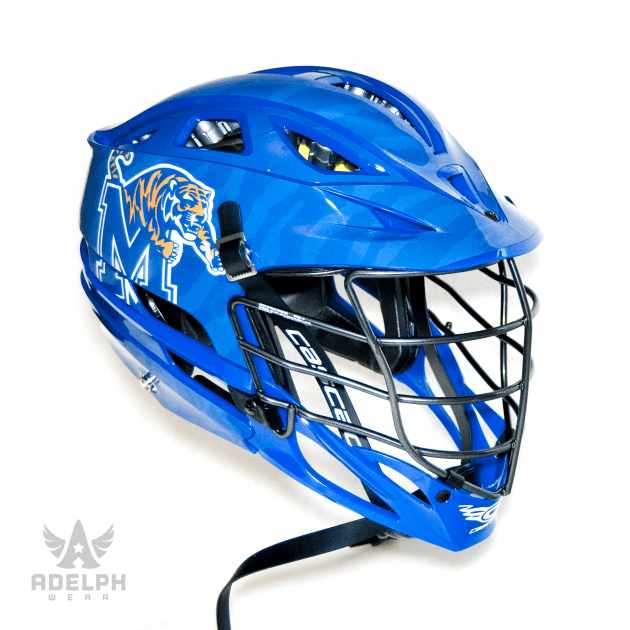 Closer Look: Memphis Lacrosse Helmet Wrap by Adelph Wear