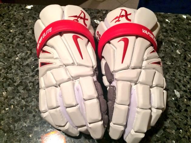 Nike Vapor Elite Lacrosse Gloves for Annandale High School