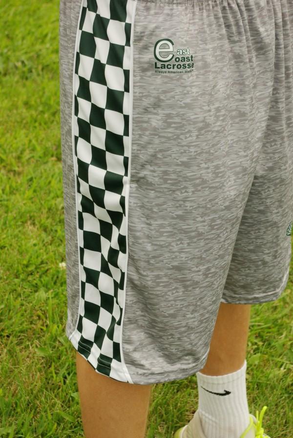 Heathered Gray Shorts_East Coast Lacrosse2