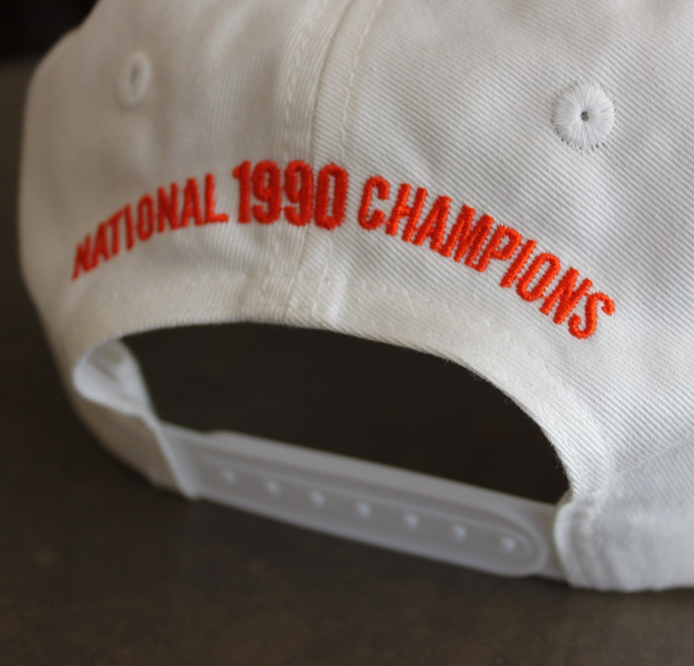 1990 Syracuse Lacrosse Hat_Back