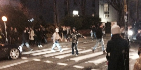 Alberto Gonzalez (LTP Member) Crossing Abbey Road